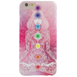 Sieben Chakras rosa Dame Barely There iPhone 6 Plus Hülle