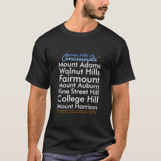 Sieben Hügel Cincinnati T-Shirt