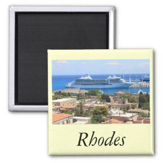 Sieben Seeseemann bei Rhodos Quadratischer Magnet