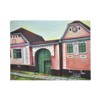 Siebenbürgen, Rumänien, Aquarell-Malerei Türmatte