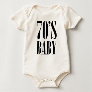 Siebzigerjahre Baby Baby Strampler
