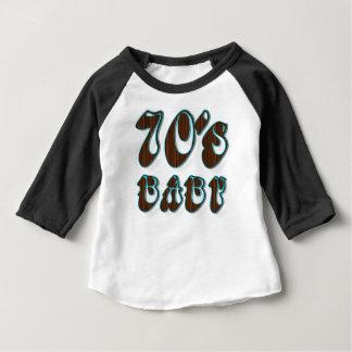 Siebzigerjahre Baby Baby T-shirt