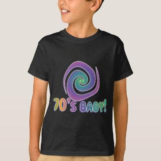 Siebzigerjahre Baby STARK! mit Strudel T-Shirt