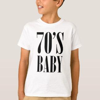 Siebzigerjahre Baby T-Shirt