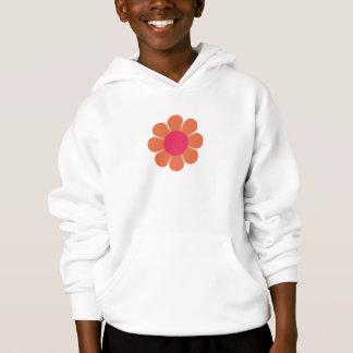 Siebzigerjahre Blumen-Power Hoodie