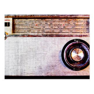 Siebzigerjahre Radio Postkarte