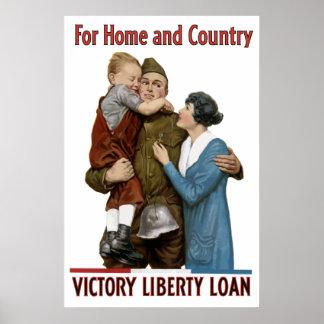 Sieg-Freiheits-Darlehen Poster