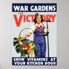 Sieg-Garten Poster