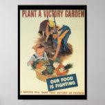 Sieg-Garten-Weltkrieg 2 Plakat