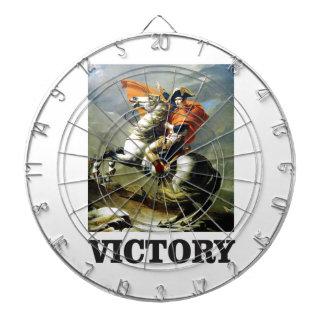 Sieg-Pose Notiz: Dartscheibe