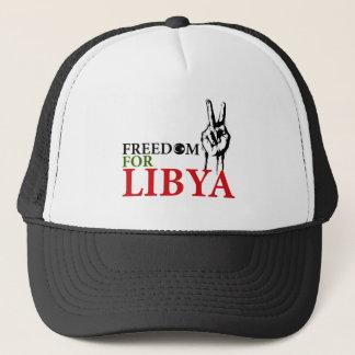 Sieg u. Freiheit für Libyen Truckerkappe