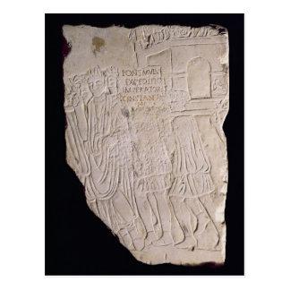 Sieg von Constantine das große Über Postkarte
