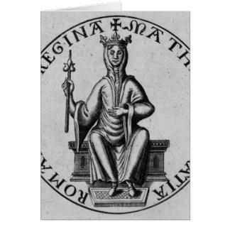 Siegel der Kaiserin Matilda Karte