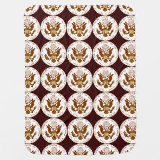 Siegel des Höchsten Gerichts Vereinigter Staaten Babydecke