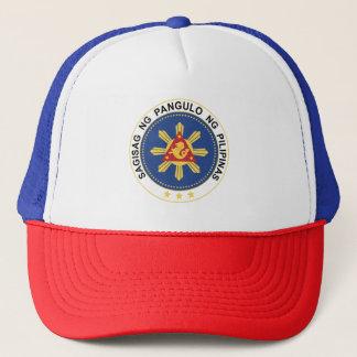 Siegel des Präsidenten der Philippinen Truckerkappe