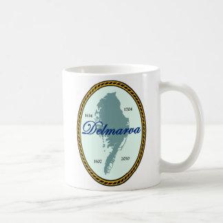 Siegel des Staat von Delmarva Kaffeetasse