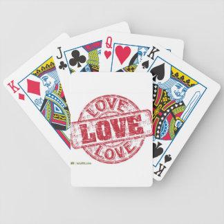 Siegel-Liebe Bicycle Spielkarten