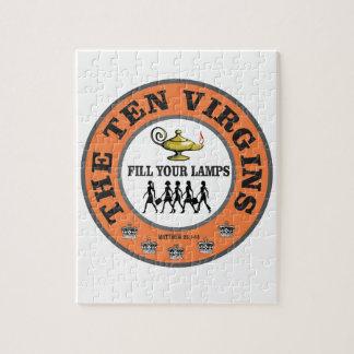 Siegel mit zehn Jungfrauen Puzzle