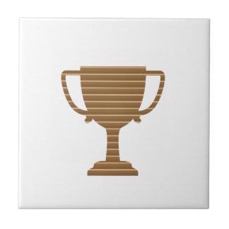 Sieger-Goldtrophäe SCHABLONE addieren TEXT-GRUSS Keramikfliese