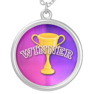 Sieger-Medaille Versilberte Kette