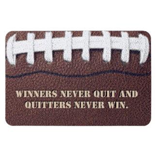 Sieger nie verlassen magnet