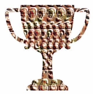 Sieger-Trophäe:  CaveStyle GoldCoins Freistehende Fotoskulptur
