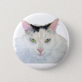 Sierra die Katze Runder Button 5,7 Cm