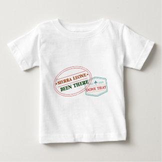 Sierra Leone dort getan dem Baby T-shirt