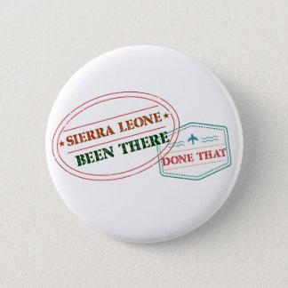 Sierra Leone dort getan dem Runder Button 5,1 Cm