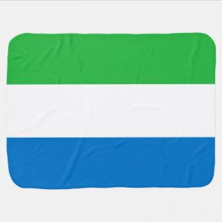 Sierra Leone-Flagge Babydecke