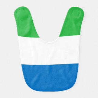 Sierra Leone-Flagge Lätzchen