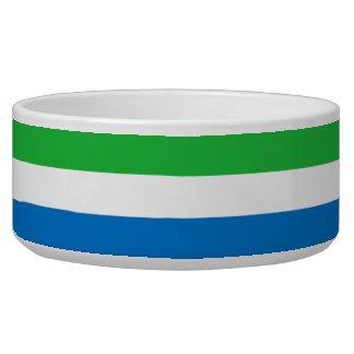 Sierra Leone-Flagge Napf
