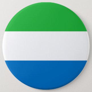 Sierra Leone-Flagge Runder Button 15,3 Cm