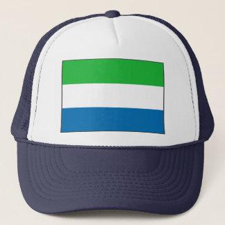 Sierra Leone-Flaggen-Hut Truckerkappe