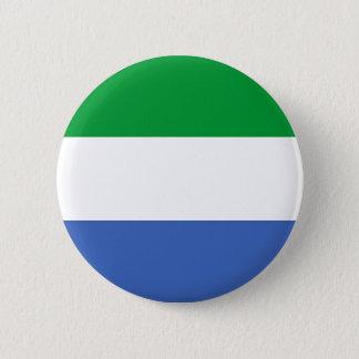 Sierra Leone-Landesflagge-Nationssymbol Runder Button 5,7 Cm