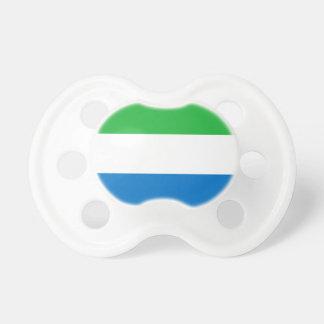 Sierra Leone-nationale Weltflagge Schnuller