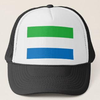 Sierra Leone-nationale Weltflagge Truckerkappe