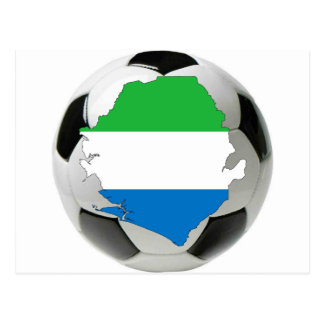 Sierra Leone-Nationalmannschaft Postkarte