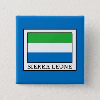 Sierra Leone Quadratischer Button 5,1 Cm