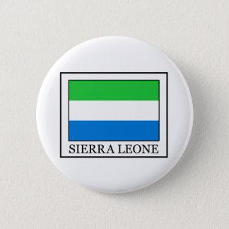 Sierra Leone Runder Button 5,1 Cm