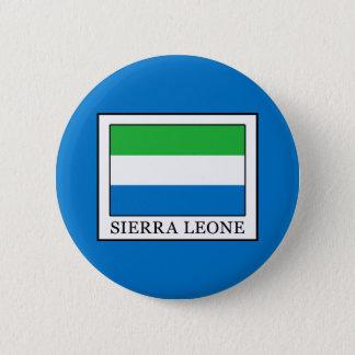 Sierra Leone Runder Button 5,7 Cm