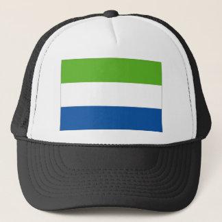 Sierra Leone-Staatsflagge Truckerkappe