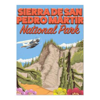 Sierra Nationalpark Des San Pedro Mártir 16,5 X 22,2 Cm Einladungskarte