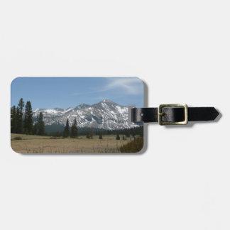 Sierra Nevada-Berge I von Yosemite Gepäckanhänger