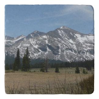 Sierra Nevada-Berge I von Yosemite Töpfeuntersetzer