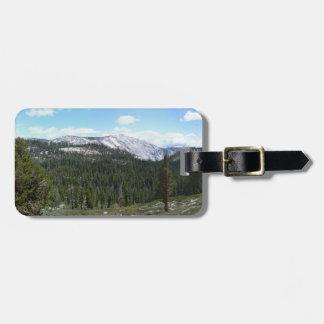 Sierra Nevada-Berge II von Yosemite Gepäckanhänger