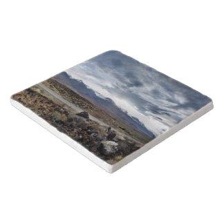 Sierra Nevada-Berge von Owens Tal Töpfeuntersetzer