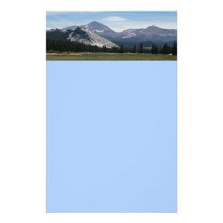 Sierra Yosemite Nationalpark Nevada-Bergiii Briefpapier