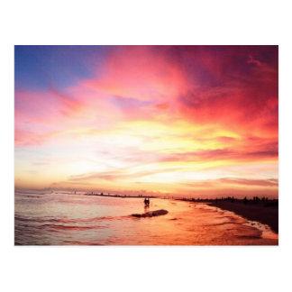Siesta Schlüsselflorida, Sommer-Nacht, Postkarte