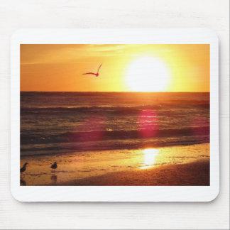 Siesta-Schlüsselstrand-Sonnenuntergang Mousepad